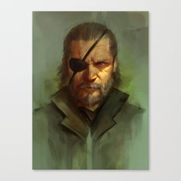 Big Boss Variant Canvas Print