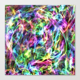 Trapped in Colour Canvas Print