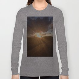 Sunset Explosion Long Sleeve T-shirt