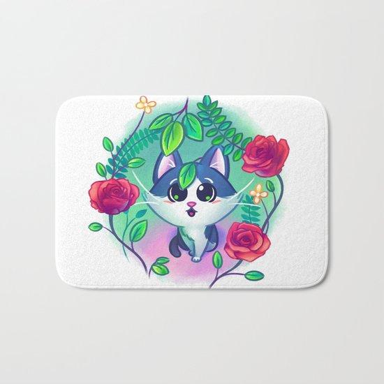 Kitten Garden Bath Mat