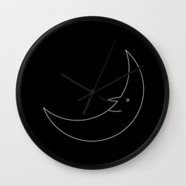 Mr. Moon II Wall Clock