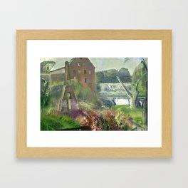 "George Wesley Bellows ""Deserted Factory"" Framed Art Print"