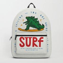 Japanese Monster  Surfing Backpack