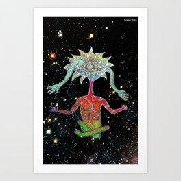Mind's Eye (Foiled) Art Print