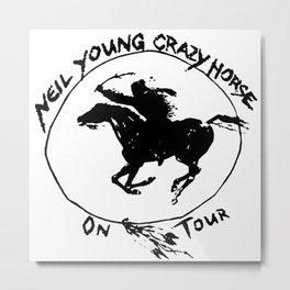 neil young crazy horse on tour dates 2021 karanganom Metal Print