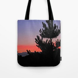 July Sunrise over London Tote Bag