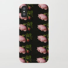 A Dozen Pink Rose Buds Slim Case iPhone X