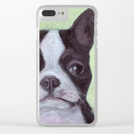 Jackson the Dog Clear iPhone Case
