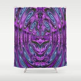 Created in a Garden Shower Curtain