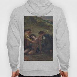 Eugene Delacroix - St. Sebastian With St. Irene And Attendant - Digital Remastered Edition Hoody