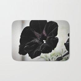 Black Velvet Bath Mat
