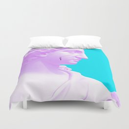 Fifty Shades of Pink Duvet Cover