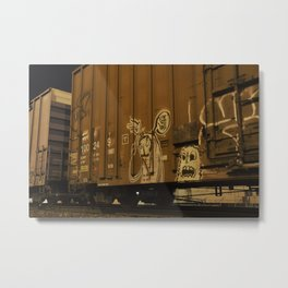 Moving Art Metal Print