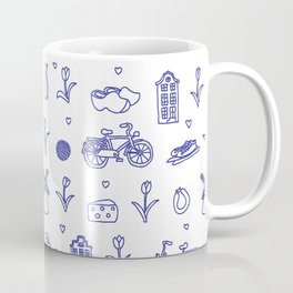 Seamless Holland pattern Coffee Mug