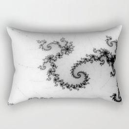 detail on mandelbrot set - pseudopod Rectangular Pillow