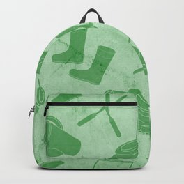 GARDEN TOOL KIT PATTERN Backpack
