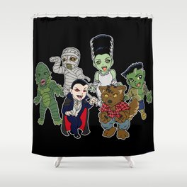 Universal Monsters Shower Curtain
