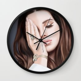 """Trust no One"" LanadelRey Wall Clock"