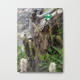 Timid Monsters in the Wild - Blimble Metal Print