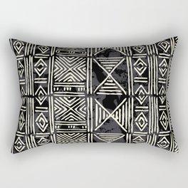 Tribal mud cloth pattern Rectangular Pillow