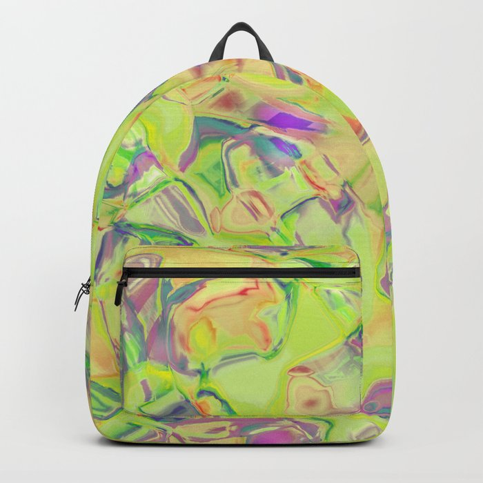 Abstract ABC MBZZ Backpack