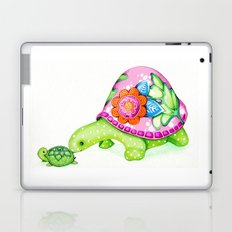 Mom and Baby Turtle Laptop & iPad Skin