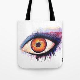 Aries Watercolor Eye Tote Bag
