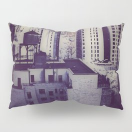Muted Cityscape Pillow Sham