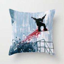'Rail Wizard' Throw Pillow