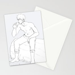After training Stationery Cards