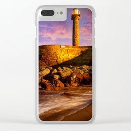 Beacon in Bronze Clear iPhone Case