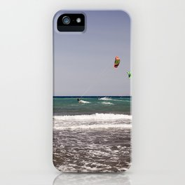 Kite surfing holiday sports iPhone Case