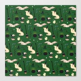 Slytherin Pattern Canvas Print