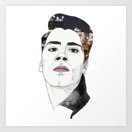City Boy Art Print