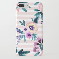 Victoria Blushing Stripe iPhone 7 Plus Slim Case