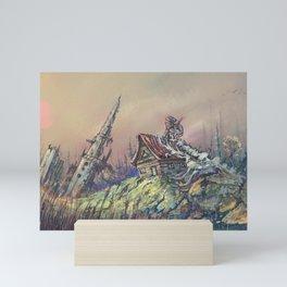 Mysterious landscape Mini Art Print