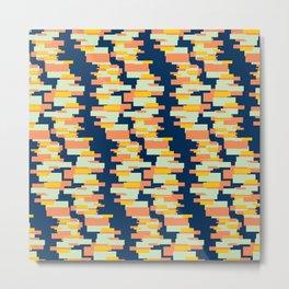 BP 62 Rectangle Stripes Metal Print