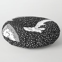 Persistence of memory. Dalí Floor Pillow