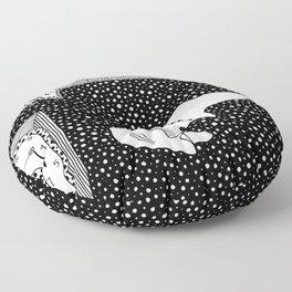 Salvador Dalí - Persistence of memory Floor Pillow