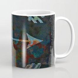 Arrow minded with texture Coffee Mug
