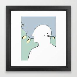 He:: Navigation  // Illustration Framed Art Print