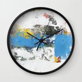 Crow Abstract Art Wall Clock