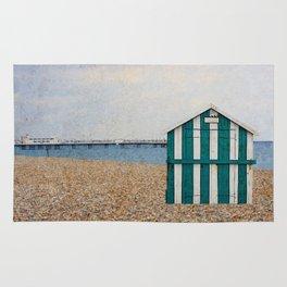 Sea View Beach Hut Rug