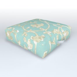 Baroque Damask Outdoor Floor Cushion