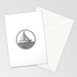Sailing Boat Stationery Cards