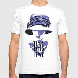 Time After Time Bleu T-shirt