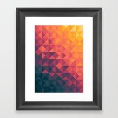Infinity Twilight Framed Art Print