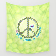 whirled peas Wall Tapestry