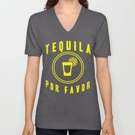 Tequila Por Favor Beverage Wine Drinking Men Gift  Unisex V-Neck