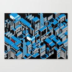 The Suburbs Canvas Print